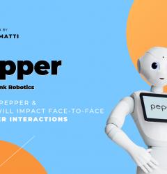 Pepper from SoftBank Robotics