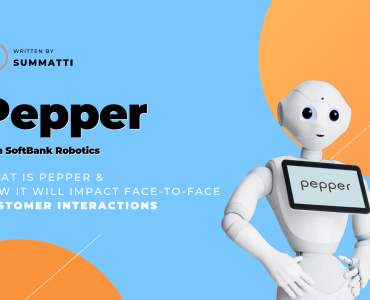 Pepper from SoftBank Robotics