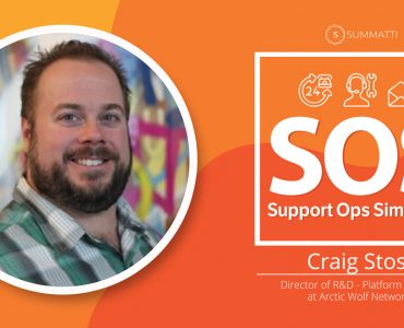 Craig Stoss Director of R&D Platform Support at Arctic Wolf Networks Podcast