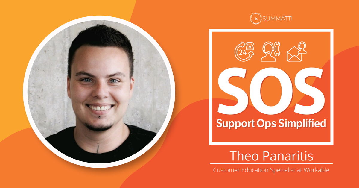 Theo Panaritis Customer Education Specialist at Workable Podcast