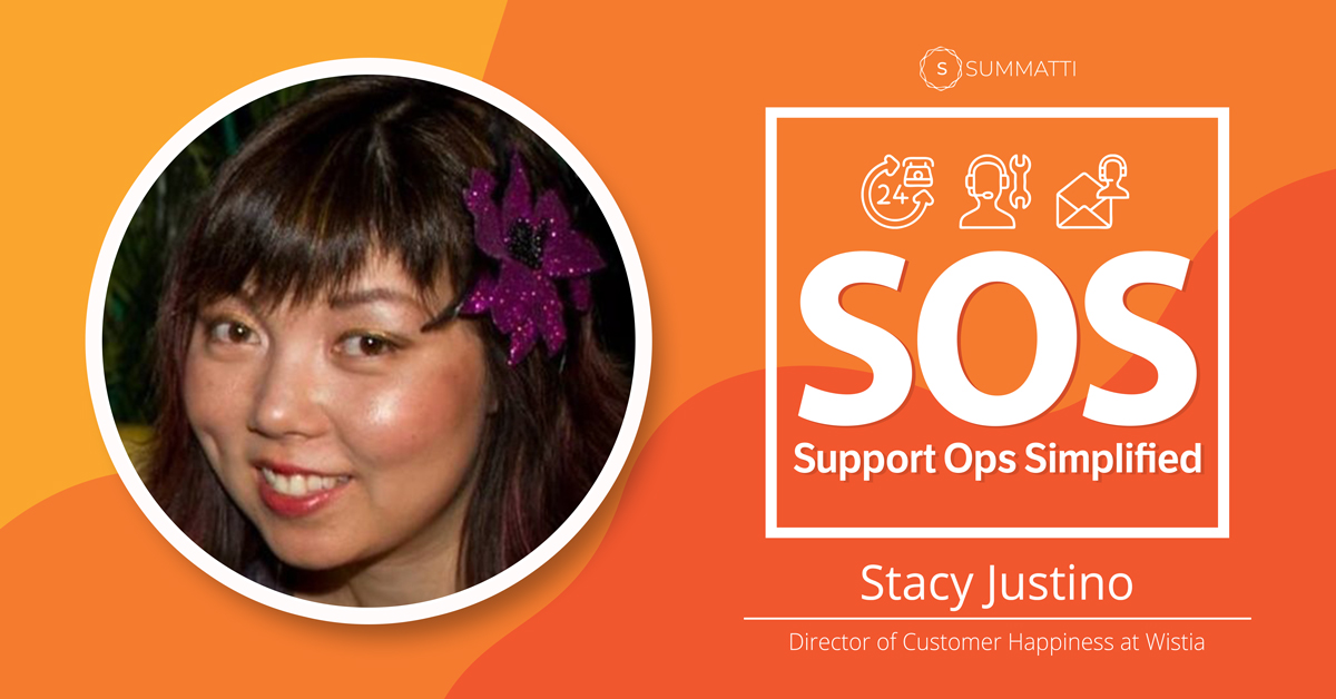 Stacy Justino Director of Customer Happiness at Wistia